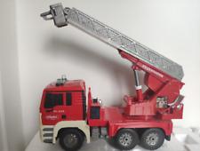 Jamara Feuerwehrauto ferngesteuert, Topzustand mit Drehleiter, Sirene Blaulicht
