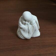 chin. Buddha Kunsthandwerk Elfenbein Imitat 031014