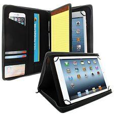 Apple New iPad Pro 10.5 2017 Case Padfolio Carbon Fiber Pocket Card Doc Slots