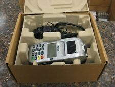 First Data Fd100ti Credit Card Machine w/ Power Supply & Box - Nice Condition