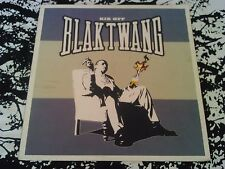 "** BANKSY ARTWORK ** BLAK TWANG - KIK OFF 12"" COVER ( NO RECORD ) RARE UK LTD"