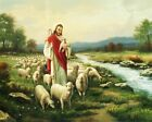 CHRIST WITH LOST SHEEP - 8  x 10 Print
