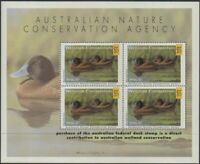 Australia Cinderella Ducks 1996 $15 Blue-billed Duck MS MNH