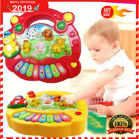 Baby Musical Educational Animal Farm Piano Developmental Music Toys for Kids UK
