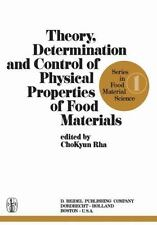 Theory, Determination and Control of Physical Properties of Food Mater-ExLibrary