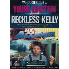 Young Einstein - Reckless Kelly - Mr Accident - Yahoo Serious DVD