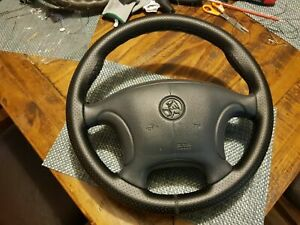 Holden Black VT VX Perforated leather steering wheel SS commodore