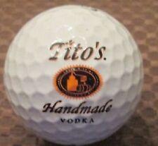 1 Dozen Titleist Pro V1x (TITOS HANDMADE VODKA LOGO) Golf Balls