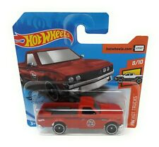 Hot Wheels 182/2020 Datsun 620 Pick Up red Hot Trucks Malaysia short blister