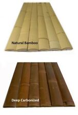 Bamboo Slats/ Half Flat Poles /Plank Fencing -Eco-Garden and Building Material