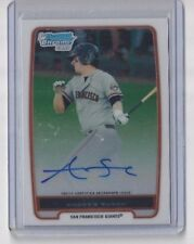 ANDREW SUSAC 2012 Bowman Chrome AUTO RC I Have 6 Available