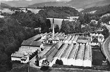 (68) LAUW L´usine en avion au dessus , cheminé usine ( Haut Rhin