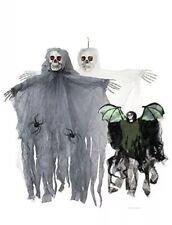 Halloween Hanging reaper skeleton decoration Horror Ghoul Prop Shop Dead x3