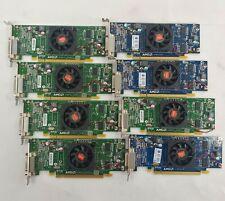 Lot of 8 ATI Radeon HD 5450 Low Profile Graphics Cards 512MB DDR2 109-C09057-00