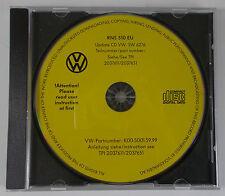 GENUINE VW RNS 510 NAVIGATION RADIO STEREO UPDATE CD