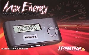 HYPERTECH MAX ENERGY TUNER 2006-13 GM CARS TRUCKS SUV'S