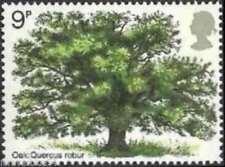 GB 1973 timbres commémoratifs ~ Arbre ~ non montés Comme neuf Set ~ Vendeur Britannique