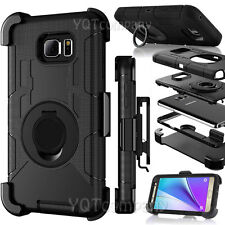 Samsung Galaxy S8 Plus Case Hard&Soft Rubber Hybrid Armor Impact Defender Cover