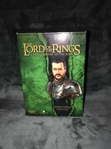 NEW THE LORD OF THE RINGS : PRINCE ISILDOR POLYSTONE BUST MADE BY SIDESHOW - VGC