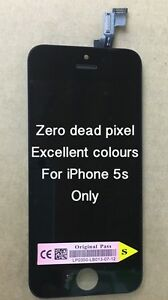 Genuine Quality Replacement Lcd Touch Screen For Original iPhone 5s Black