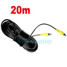20M 65FT AVTo AV RCA to RCA AV VIDEO Extension Cable For Reversing Camera