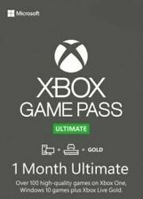 Xbox Live GOLD + Game Pass Ultimate Key - 1 Month Code - Xbox One PC - *INSTANT*