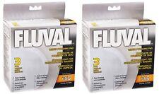 (2) HAGEN FLUVAL FX5 FILTER FINE WATER POLISHING PAD 3PK. A-246