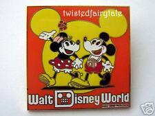 Disney Pins JTT Time Traveler RETRO MICKEY & MINNIE LE