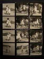 1951 Virgin Islands Fashion VINTAGE CONTACT SHEET By Milton Greene 687H