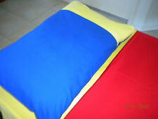 JUNIOR PILLOW CASES - NEW - 22 COLOURS - $8 EACH - FREE POSTAGE - 16YRS ON EBAY