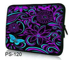 "10.2"" Laptop Sleeve Case Bag Cover fr Google Android Nexus 10 Tablet Purple Blue"