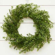 "Artificial 20"" Boxwood Wreath"