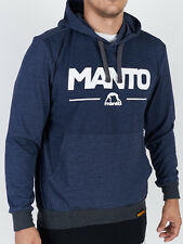 Manto Combo Hoodie Light Denim Blue BJJ No Gi Casual MMA Fight Jiu Jitsu