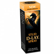 STUD DELAY SPRAY Double strength. Last longer with D-LAY spray. Free delivery
