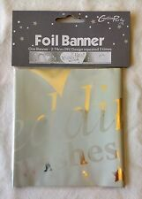 9ft Foil Anniversary Banners by Creative Party