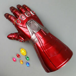 Avengers Infinity Gauntlet LED Iron Man Handschuh Erwachsene  Kinder Handschuh