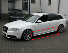 SPOILER SIDE SKIRTS Audi A6 4F + Restyling 2004 - 2011 S-LINE Optik Look