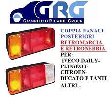 COPPIA FANALI SX+DX POSTERIORI IVECO DAILY;DUCATO;CITROEN;PEUGEOT