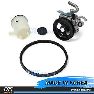 ⭐Power Steering Pump w/ Belt & Reservoir Tank for 06-11 Kia Rio Rio5 571001G000⭐