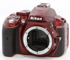 Nikon D D5300 24.2MP Digital SLR Camera - Red (Body Only)