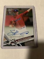 2017 Topps Chrome SEAN NEWCOMB Auto/Autograph RC Rookie Card Braves