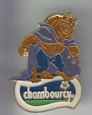 RARE PINS PIN'S .. DISNEY PARIS ANCIEN LA BELLE ET LA BETE CHAMBOURCY 1992 ~17