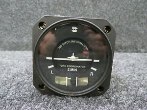 6405-8-28L S-Tec Turn and Bank Indicator, Lighted Display (Volts: 28)