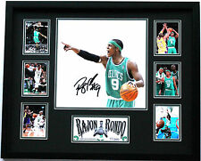 New Rajon Rondo Signed Boston Celtics Limited Edition Memorabilia Framed