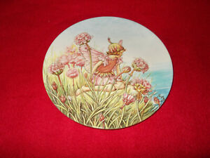 GRESHAM FLOWER FAIRY DECORATIVE COLLECTORS WALL PLATE CICELY BARKER YEW FAIRIES