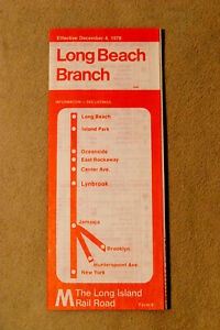 Long Island Railroad - Long Beach Branch - Dec 4, 1978