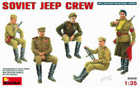 MODEL KIT FIGURES MIN35049 - Miniart 1:35 - Soviet Jeep Crew