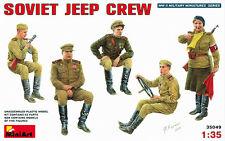 Modell Bausatz Figuren min35049 - MiniArt 1:3 5 - Sowjet Jeep Mannschaft