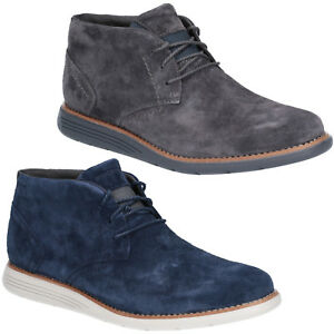 Rockport Total Motion Sportdress Chukka Boots Classic Suede Leather Mens Shoes