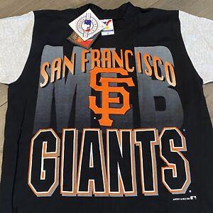 San Francisco Giants T Shirt Mens Medium Vintage 90s MLB Baseball Retro New NWT